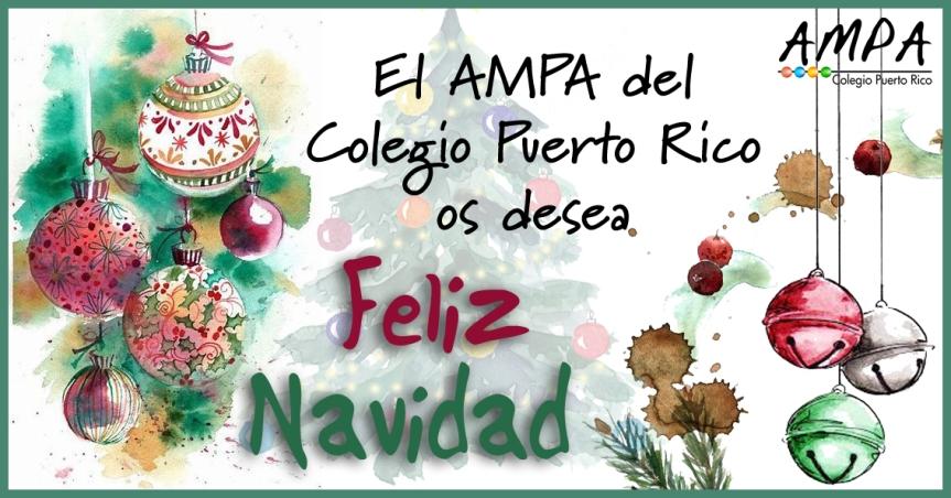 Felices fiestas AMPA 2018